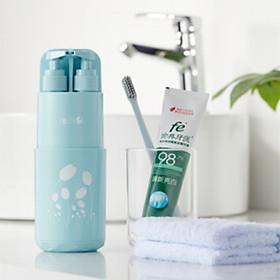 Combo bộ đồ dùng vệ sinh cá nhân du lịch, hộp rửa mặt 6 món_VSCN02