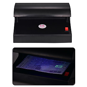 Portable Desktop Multi-Currency Money Detector Counterfeit Cash Currency Banknote Checker Tester Single UV Light with