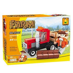 Đồ chơi trẻ em - Bộ lắp ráp nông trại vui vẻ (28301)