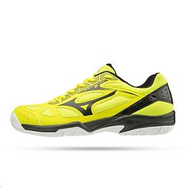Giày cầu lông nam, giày cầu lông nữ Mizuno Cylone Speed 2 V1GA198046 mẫu mới hàng chính hãng dành cho nam và nữ màu xanh chuối đủ size
