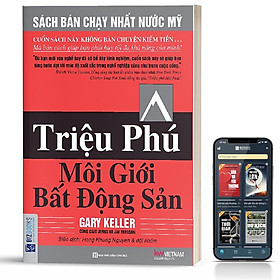 Sách - Triệu Phú Môi Giới Bất Động Sản  - BizBooks