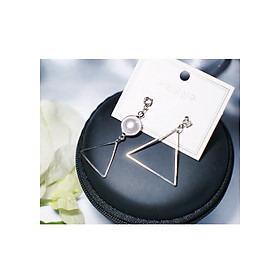 Hình đại diện sản phẩm Bông tai Hàn Quốc - Hoa tai đẹp sang chảnh - Khuyên tai đi dự tiệc, đám cưới, sinh nhật xinh xắn - Mẫu 30
