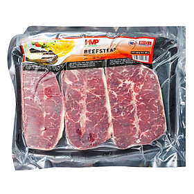 Beefsteak bò Mỹ MVP khay 500g