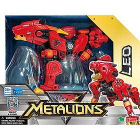 Đồ Chơi Lắp Ráp Young Toys - Tobot Biến Hình Động Vật Metalions Leo (Sư Tử) 314028