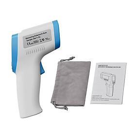 Máy đo nhiệt độ không tiếp xúc, cảnh báo sốt, đo nhiệt độ bề mặt thông minh DT-8806C (Tặng nhiệt kế mini bỏ túi đi nhiệt độ độ ẩm đa năng- màu ngẫu nhiên)
