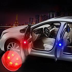 [COMBO] 4 Đèn LED cảm biễn Nhấp nháy cảnh báo Chống Va Chạm Cửa Xe Ô Tô