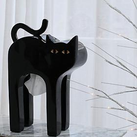 Hộp khăn giấy hình chú mèo