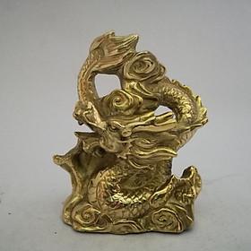Rồng nhỏ bằng đồng 12cm