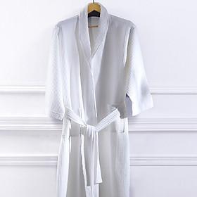 Áo Choàng Tắm Cotton Mỏng LENCIER