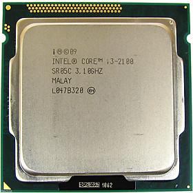 Bộ vi xử lý Intel CPU Core I3 2100 3.1GHz + Fan Zin  Hàng chính hãng