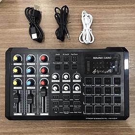 Soundcard S8 2020 cực hay - autotune - livestream - loa ngoài và có thể kết hợp Cubase hát live