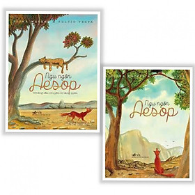 Combo Truyện Ngụ Ngôn Hay: Ngụ Ngôn Aesop + Ngụ Ngôn Aesop - Những Câu Chuyện Bị Lãng Quên (2 cuốn) - Tặng kèm Bookmark Happy Life