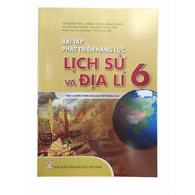 Bài Tập Phát Triển Năng Lực Lịch Sử và Địa Lí Lớp 6