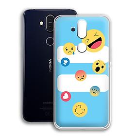Ốp lưng dẻo cho điện thoại Nokia 8.1 - 01173 0579 SUMMER10 - Hàng Chính Hãng