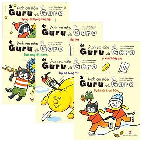 Combo Anh Em Mèo Guru Và Goro (Bộ 6 Cuốn)