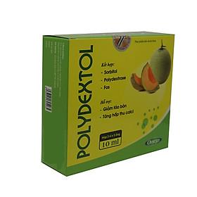 Thực phẩm bảo vệ sức khỏe Polydextol giúp giảm táo bón - Trường Thọ hộp 15 ống-tặng khăn lau cao cấp