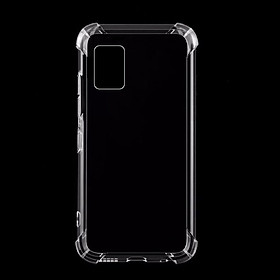 Ốp Lưng Dành Cho Samsung A71 Chống Sốc 4 Đầu 2020 Silicone Dẻo Trong Suốt