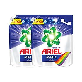 Combo 2 Nước Giặt Ariel Matic Giữ Màu (3.25Kg/ Túi)