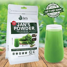 Bột cần tây sấy lạnh Jan's Powder - Combo 20 bịch nhỏ 3gr định lượng sẵn cho 1 lần sử dụng - Giảm Cân, Đẹp Da, Thải Độc Cơ Thể.