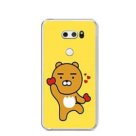 Ốp lưng dẻo cho điện thoại LG V30 - 0348 KAKAO01 - Hàng Chính Hãng