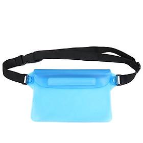 Túi Nhựa PVC Đeo Thắt Lưng Đựng Điện Thoại Chống Nước Khi Đi Bơi