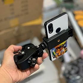 Đầu nối giá đỡ SmileBox kẹp điện thoại gắn vào tripod hỗ trợ livestream, quay phim nhiều máy cùng lúc, kẹp cạnh bàn, gắn xe đạp- Hàng chính hãng