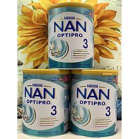 Combo 3 hộp Sữa Bột Nestlé NAN Nga Optipro 3 (800g) - 12 đến 18 tháng