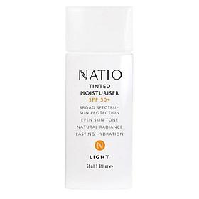 Natio Tinted Moisturiser SPF 50+ Light Online Only