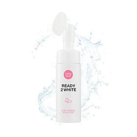 Sữa Rửa Mặt Trắng Da Cathy Doll Ready 2 White 2in1 Bubble Mousse Cleanser 120ml