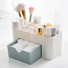 Hộp nhựa có nhiều ngăn đựng trang sức/ Hộp nhựa đựng mỹ phẩm