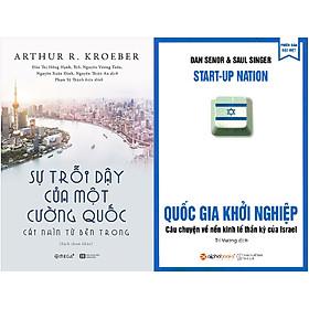 Combo Giải Mã Sự Phát Triển Thành Công Của Các Quốc Gia ( Sự Trỗi Dậy Của Một Cường Quốc: Cái Nhìn Từ Bên Trong + Quốc Gia Khởi Nghiệp ) tặng kèm bookmark Sáng Tạo