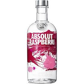 Rượu Vodka Absolut vị mâm xôi Raspberri 700ml 40% - Không kèm hộp