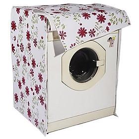Áo trùm máy giặt cửa trước - vỏ bọc bảo vệ máy giặt lồng ngang loại dày