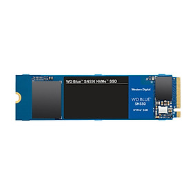 Ổ Cứng SSD WD Blue SN550 NVMe 500GB PCIe Gen 3 M.2 2280 - WDS500G2B0C - Hàng Chính Hãng