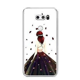 Ốp lưng dẻo cho điện thoại LG V30 - 0106 GIRL03 - Hàng Chính Hãng