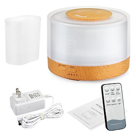 Máy tạo ẩm, khuếch tán tinh dầu, chăm sóc da có điều khiển từ xa và ánh sáng 7 màu ( thế hệ mới)