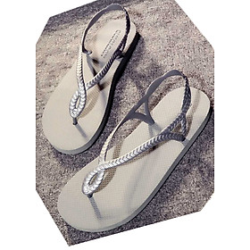 Hình đại diện sản phẩm Giày sandal màu sắc mới lạ, dễ dàng mang đồ 412