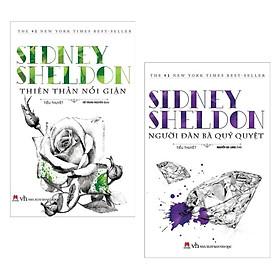 Combo Tiểu Thuyết Hấp Dẫn Nhất Của Sidney Sheldon: Thiên Thần Nổi Giận + Người Đàn Bà Qủy Quyệt (Bộ Sách Bán Chạy Nhất Nước Mỹ / Tặng Kèm Bookmark Happy Life)