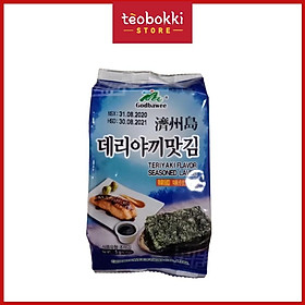 Rong biển ăn liền vị teriyaki Godbawee 5g