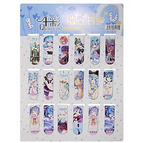 Bookmark Nam Châm Đánh Dấu Sách - Anime (Mẫu Ngẫu Nhiên)
