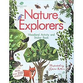 The Woodland Trust: Nature Explorers Woodland Activity và Sticker Book