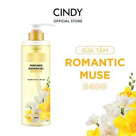 Sữa Tắm Nước Hoa Cindy Bloom Romantic Muse - Quyến Rũ 640g