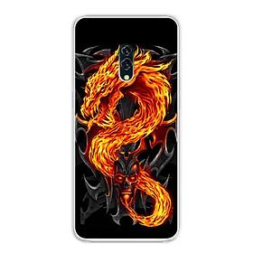 Ốp lưng cho Oppo K3 - 0218 FIREDRAGON - Silicone dẻo - Hàng Chính Hãng