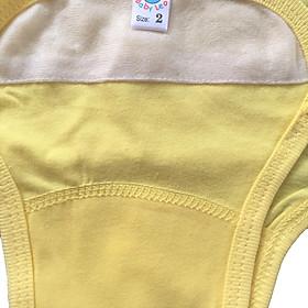 Combo 5 tả vải, tả dán cotton mềm, mịn cho bé sơ sinh Thái Hà Thịnh ( tặng kèm 1 đôi tất sơ sinh amigo như hình)-4