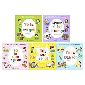 Combo Hướng Dẫn Thực Hành Kĩ Năng Sống Theo Phương Pháp Montessori 1 (Bộ 5 Cuốn)