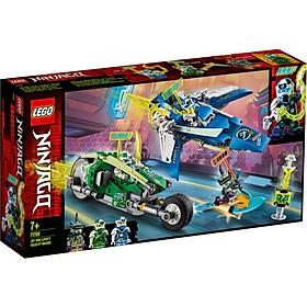 Mô hình đồ chơi lắp ráp LEGO NINJAGO  Xe Đua Tốc Độ Của Jay Và Lloyd 71709 (322 Chi tiết )
