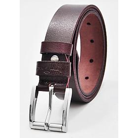 Thắt lưng nam da bò AT Leather Khóa Kim inox cao cấp