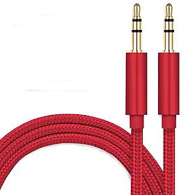Dây kết nối Audio 3.5 mm TH3.5 dài 2m (kết nối âm thanh từ điện thoại, máy tính, nhạc cụ ra loa, tai nghe)