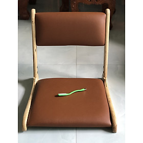 Ghế bệt có tựa lưng ngồi sát đất Pisu - TẶNG KÈM ĐÈN LED USB