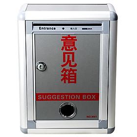 Jinlongxing (Glosen) F01 aluminum material advice box (wall-mounted waterproof message box / letter box)